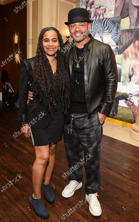 Stock Photo of Anthony Hemingway and Suzan-Lori Parks