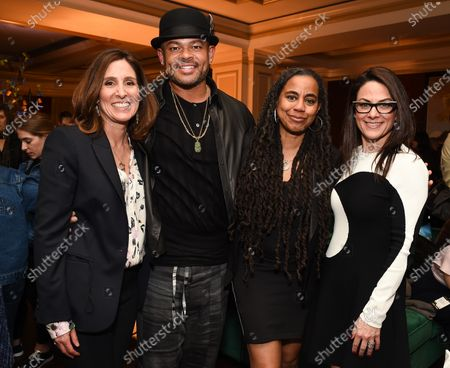 Stock Image of Carolyn Bernstein, Anthony Hemingway and Suzan-Lori Parks, Courtney Monroe