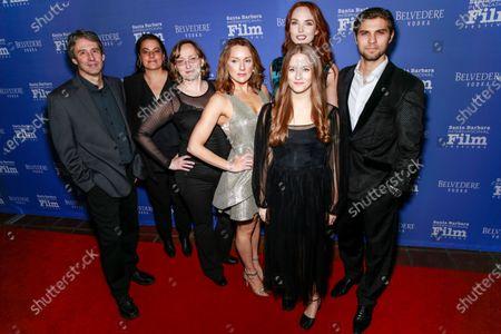 Stock Photo of Craig Pryce, Jennifer Haufler, Katarzyna Kochany, Marie Ward, Kyla Young, Morgan Kohan, and Luke Bilyk