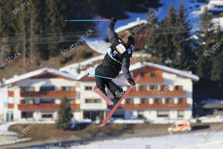 Editorial picture of Free Ski Slope style World Cup, Alpe Di Siusi, Seiser Alm, USA - 17 Jan 2020