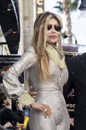 La Toya Jackson attends the ceremony honoring Iranian-Armenian born singer Andy Madadian with the 2,684th star on the Hollywood Walk of Fame in Hollywood, California, USA, 17 January 2020. The star was dedicated in the category of Recording.