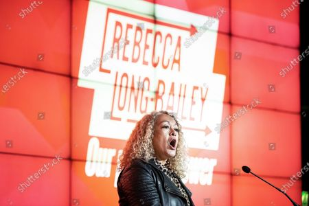 Editorial image of Rebecca Long-Bailey leadership campaign launch, Manchester, UK - 17 Jan 2020