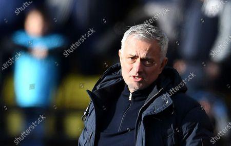 Editorial photo of Watford FC vs Tottenham Hotspur, London, United Kingdom - 18 Jan 2020