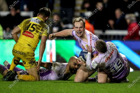 Editorial image of Heineken Champions Cup Round 6, Sandy Park, Exeter, England, UK - 18 Jan 2020