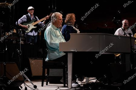 Brian Wilson of The Beach Boys performs at Magic City Casino
