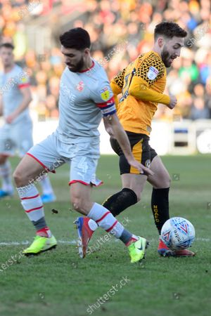 Editorial image of Newport County v Swindon Town - Sky Bet League 2 - 18 Jan 2020