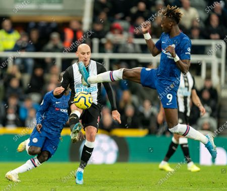 Editorial image of Newcastle v Chelsea, Barclays Premier League, Football, St. James' Park, Newcastle, UK - 18 Jan 2020