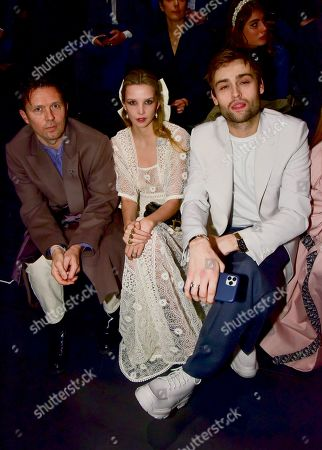 Robert Montgomery, Greta Bellamacina and Douglas Booth