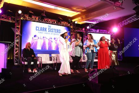 Editorial image of 'The Clark Sisters-First Ladies of Gospel', A&E Networks, TCA Winter Press Tour, Panels, Los Angeles, USA - 18 Jan 2020