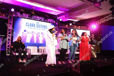 Editorial picture of 'The Clark Sisters-First Ladies of Gospel', A&E Networks, TCA Winter Press Tour, Panels, Los Angeles, USA - 18 Jan 2020