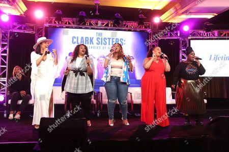 Stock Picture of Queen Latifah, Shelea Frazier, Christina Bell, Kierra Sheard, Angela Birchett, Raven Goodwin and Holly Carter