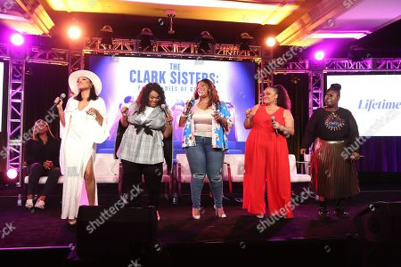 Stock Picture of Queen Latifah, Shelea Frazier, Christina Bell, Kierra Sheard, Angela Birchett, Raven Goodwin and Holly Carter