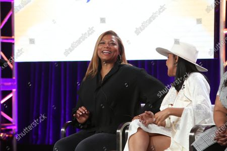 Stock Image of Queen Latifah and Shelea Frazier
