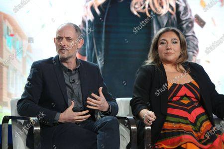 Dan Peirson and Supernanny Jo Frost