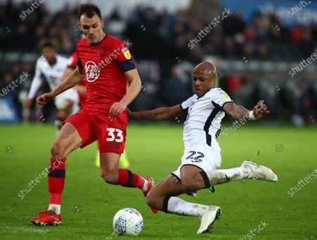 Editorial image of Swansea v Wigan, Championship Football, Liberty Stadium, Swansea, Wales - 18 Jan 2020