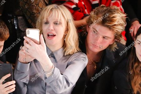 Courtney Love and Jordan Barrett