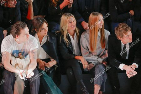 Brooklyn Beckham, Victoria Beckham, Kate Moss, Lila Grace Moss Hack and Count Nikolai von Bismarck