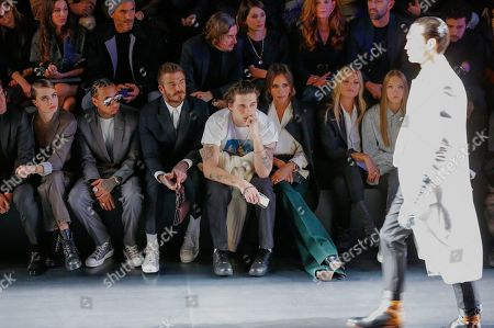 Cara Delevingne, Tyga, David Beckham, Brooklyn Beckham, Victoria Beckham, Kate Moss and Lila Grace Moss Hack