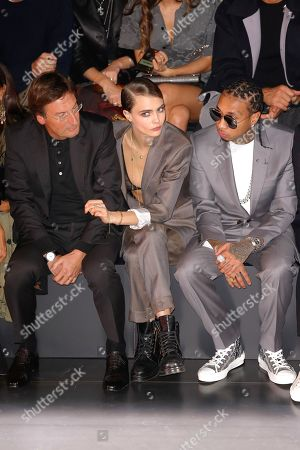 Stock Image of Pietro Beccari, Cara Delevingne and Tyga