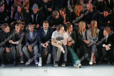 Editorial photo of Dior show, Front Row, Autumn Winter 2020, Paris Fashion Week Men's, France - 17 Jan 2020
