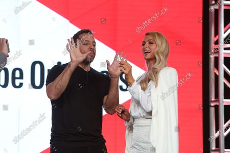 David Blaine and Paris Hilton
