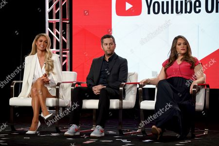 Editorial picture of 2020 Winter TCA - YouTube, Pasadena, USA - 18 Jan 2020