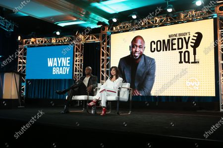 Wayne Brady and Mannie Taketa