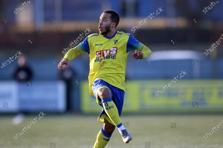 Editorial picture of Haringey Borough vs Potters Bar Town, BetVictor League Premier Division, Football, Coles Park Stadium, Haringey, London, United Kingdom - 18 Jan 2020