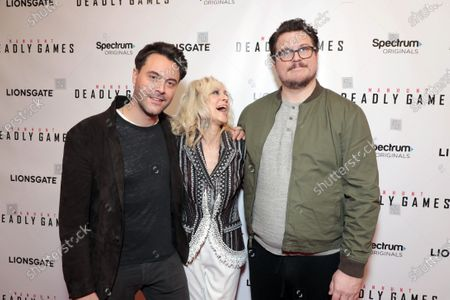 Jack Huston, Judith Light and Cameron Britton