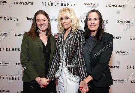 Stock Picture of Liz Varner - SVP of Spectrum Originals, Judith Light and Katherine Pope - Head of Spectrum Originals