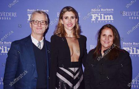 Linus Roache, Sarah Megan Thomas and Lydia Dean Pilcher