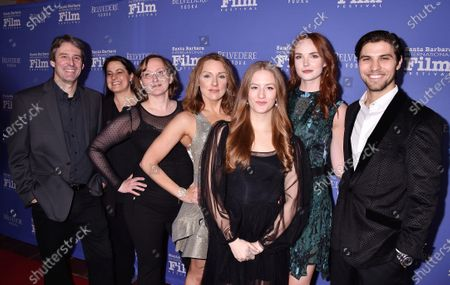 Editorial photo of Outstanding Performers of the Year Award, Arrivals, Santa Barbara International Film Festival, USA - 17 Jan 2020