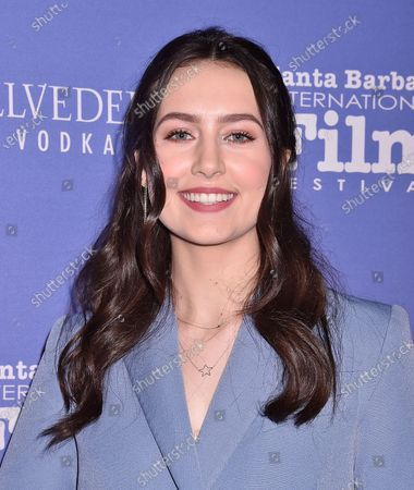 Editorial image of Outstanding Performers of the Year Award, Arrivals, Santa Barbara International Film Festival, USA - 17 Jan 2020
