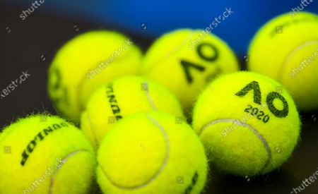 Australian Open Practice Qualifying Stock Photos Exclusive