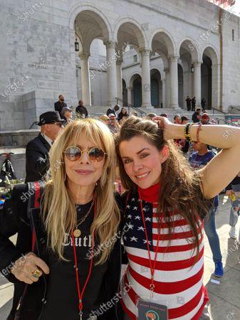 Rosanna Arquette and Alicia Arden