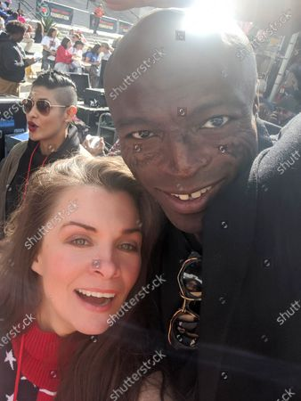 Alicia Arden and Seal