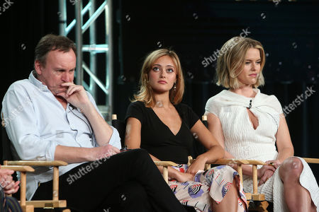 hilip Glenister, Ella Purnell and Alice Eve