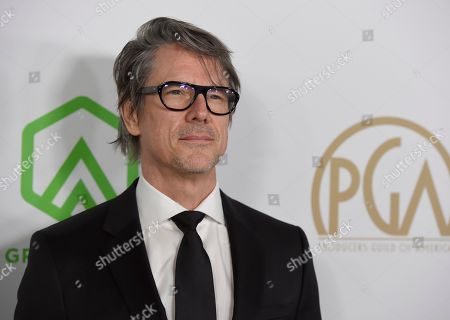 Charles Randolph arrives at the 2020 Producers Guild Awards at the Hollywood Palladium, in Los Angeles, Calif