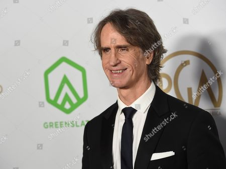 Jay Roach arrives at the 2020 Producers Guild Awards at the Hollywood Palladium, in Los Angeles, Calif