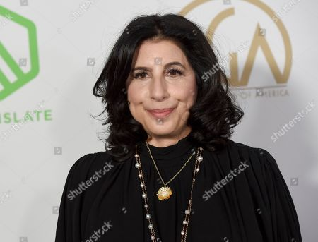 Sue Kroll arrives at the 2020 Producers Guild Awards at the Hollywood Palladium, in Los Angeles, Calif