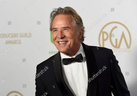 Don Johnson arrives at the 2020 Producers Guild Awards at the Hollywood Palladium, in Los Angeles, Calif