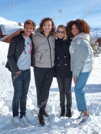 Ruben Alves, Alexandre Wetter, Pascale Arbillot and Stefi Celma