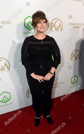 Amy Pascal arrives at the 31st Annual Producers Guild Awards at the Hollywood Palladium, in Los Angeles