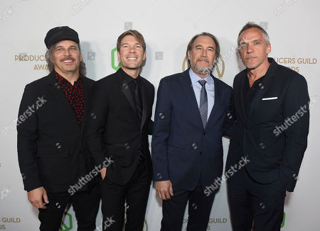 Nathan Ross, Per Saari Gregg, Fienberg, Jean-Marc Vallee. Nathan Ross, from left, Per Saari Gregg, Fienberg, and Jean-Marc Vallee arrive at the 31st Annual Producers Guild Awards at the Hollywood Palladium, in Los Angeles