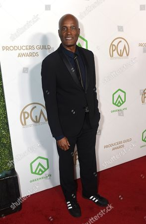 Kenny Leon arrives at the 31st Annual Producers Guild Awards at the Hollywood Palladium, in Los Angeles