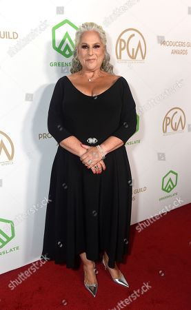 Marta Kauffman arrives at the 31st Annual Producers Guild Awards at the Hollywood Palladium, in Los Angeles