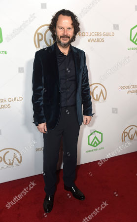 Ram Bergman arrives at the 31st Annual Producers Guild Awards at the Hollywood Palladium, in Los Angeles