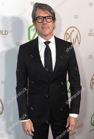 Charles Randolph arrives at the 31st Annual Producers Guild Awards at the Hollywood Palladium, in Los Angeles