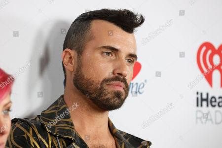 Tyler Glenn of the band Neon Trees attends the 2020 iHeartRadio ALTer Ego concert at the Forum on in Inglewood. Calif