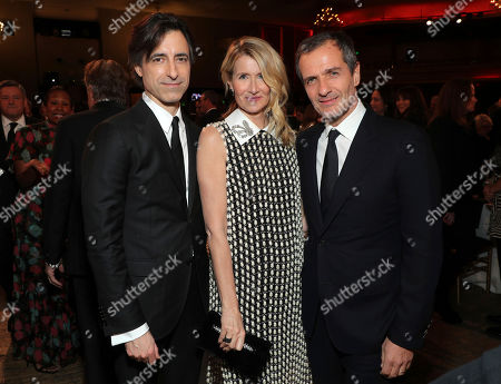 Noah Baumbach, Laura Dern, David Heyman. Noah Baumbach, from left, Laura Dern, and David Heyman attend the 31st Annual Producers Guild Awards at the Hollywood Palladium, in Los Angeles